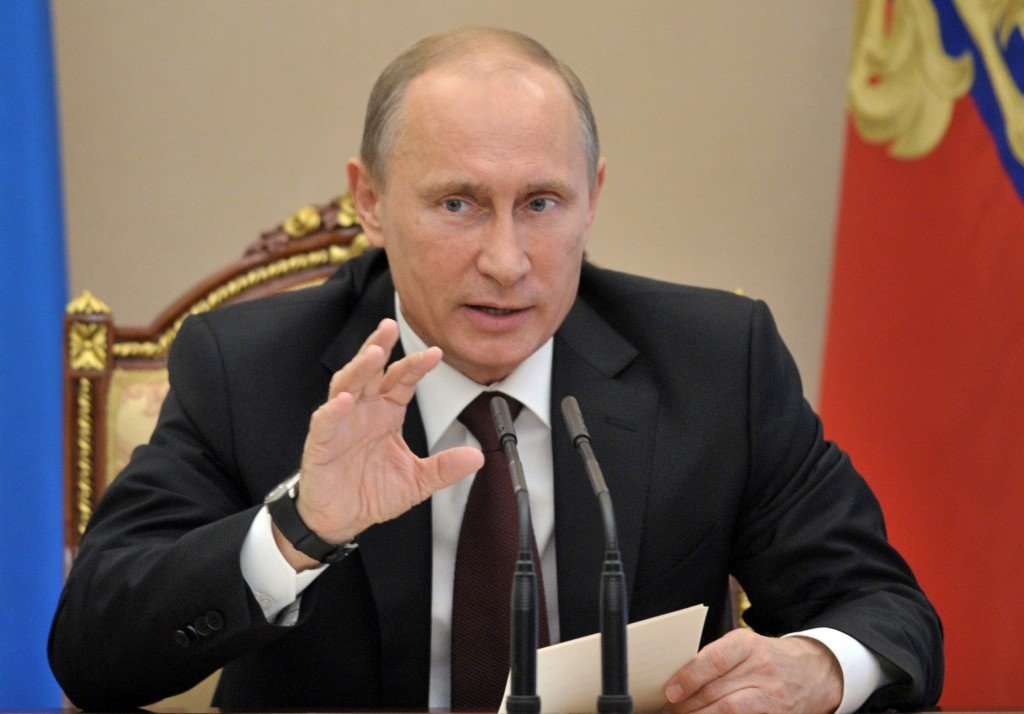 Russian President Vladimir Putin  AP FILE PHOTO