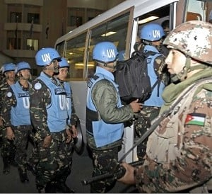 UN filipino peacekeepers