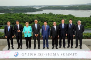 Leaders of G7 nations to pay close attention on maritime disputes in Asia